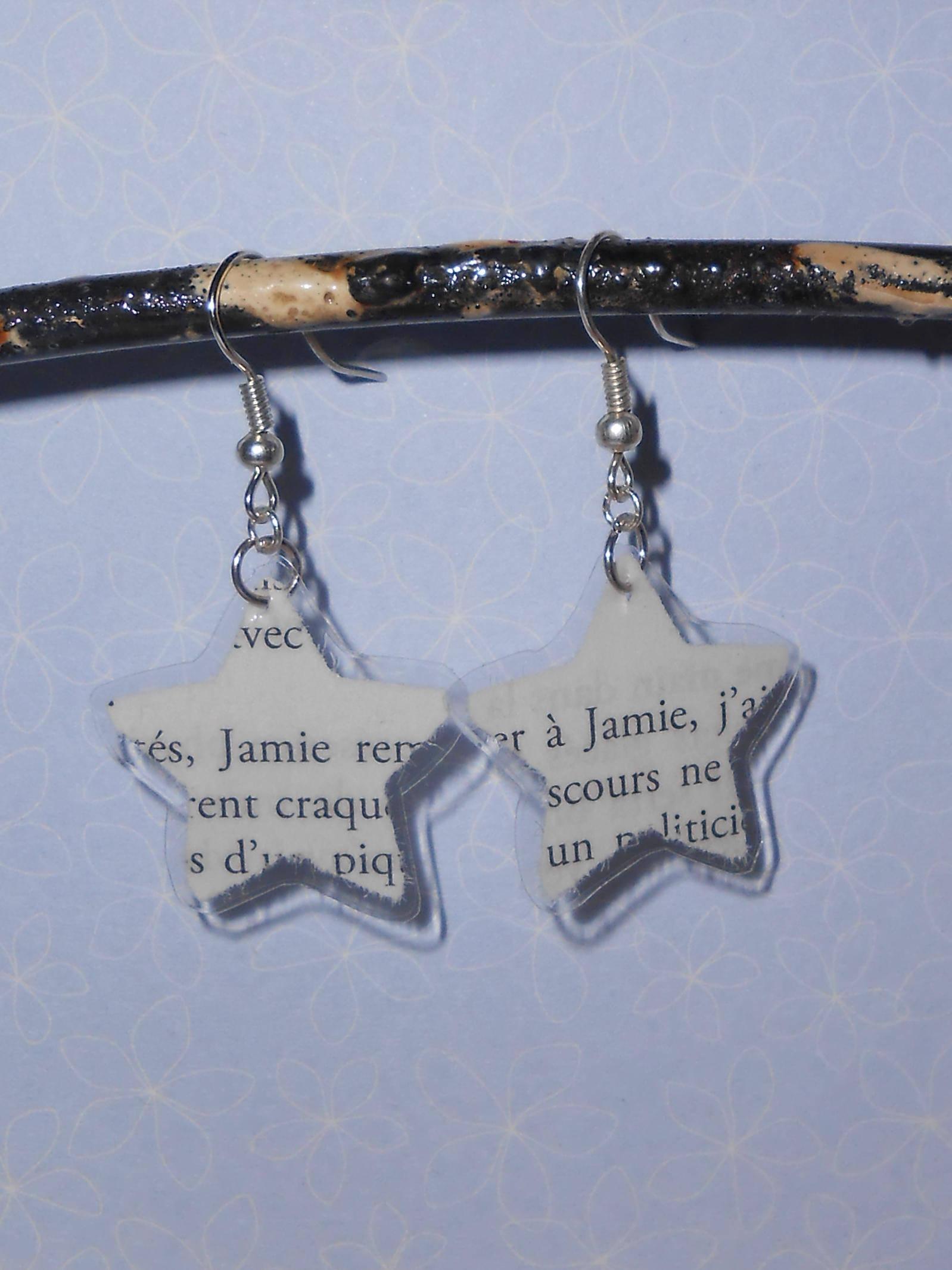 Boucles d'oreilles Outlander Jamie