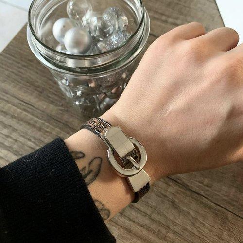 Bracelet simili-cuir