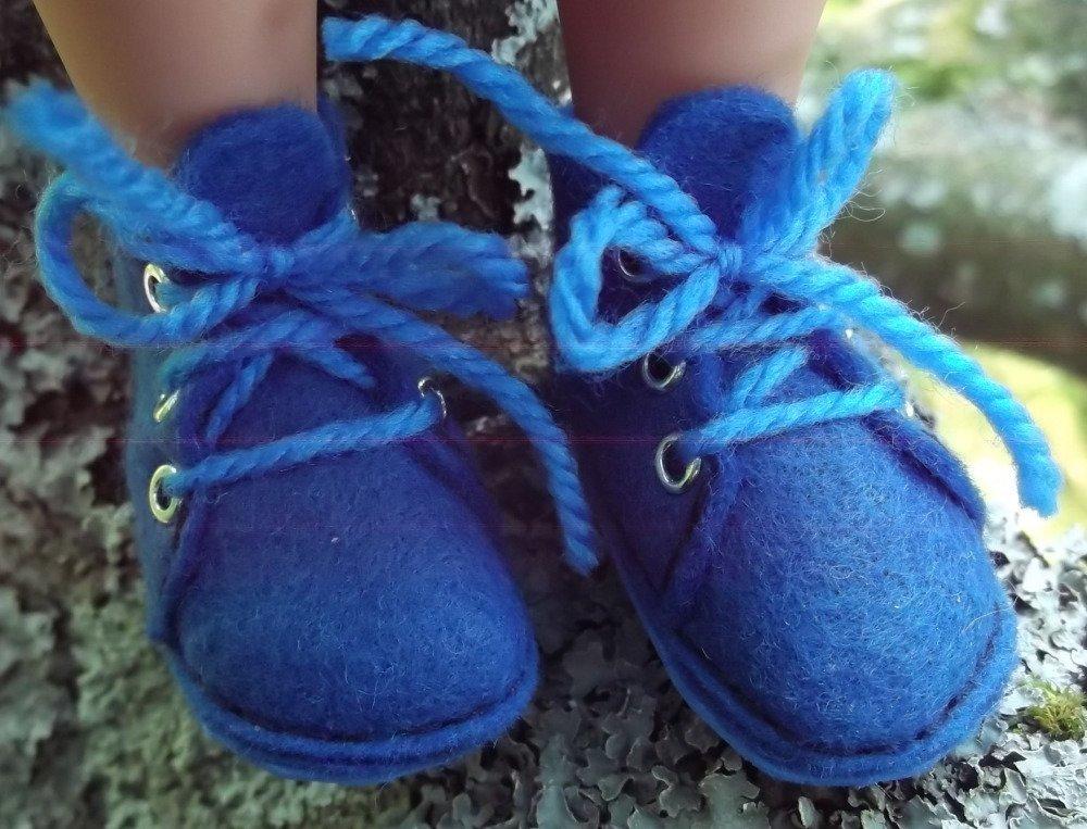 Ensemble automne bleu pour chérie corolle ou paola reina 33 cm