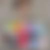Souliers mini corollines (avec ou sans franges) sur commande, couleurs au choix