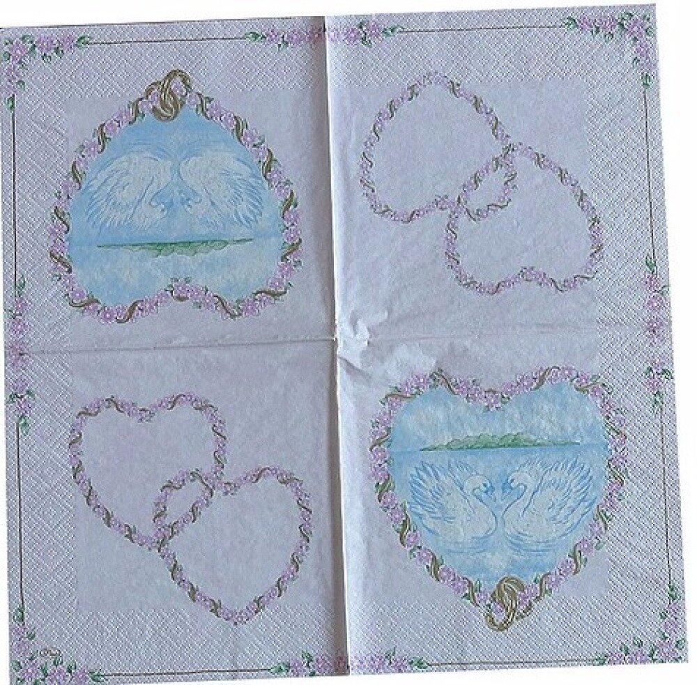 Lot de 5 serviettes - thème DIVERS ANIMAUX (#9)