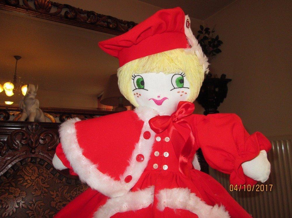 FRANCISKA - Poupée décoration Noël