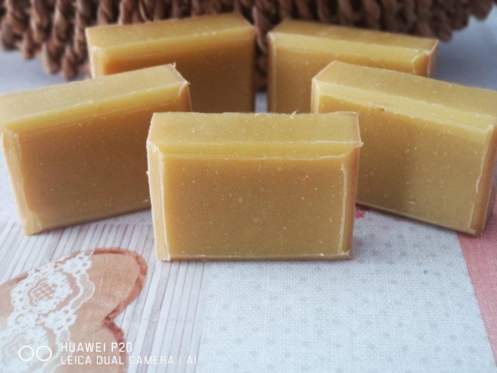 Savon DEZILE vanille de Madagascar et Lait de coco frais.
