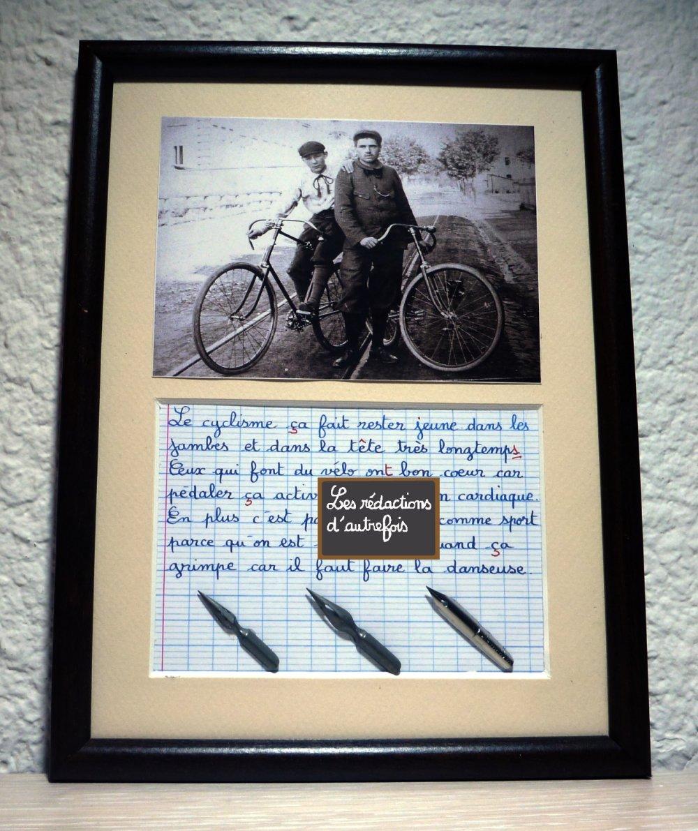 Cadeau sur le vélo pour les cyclistes