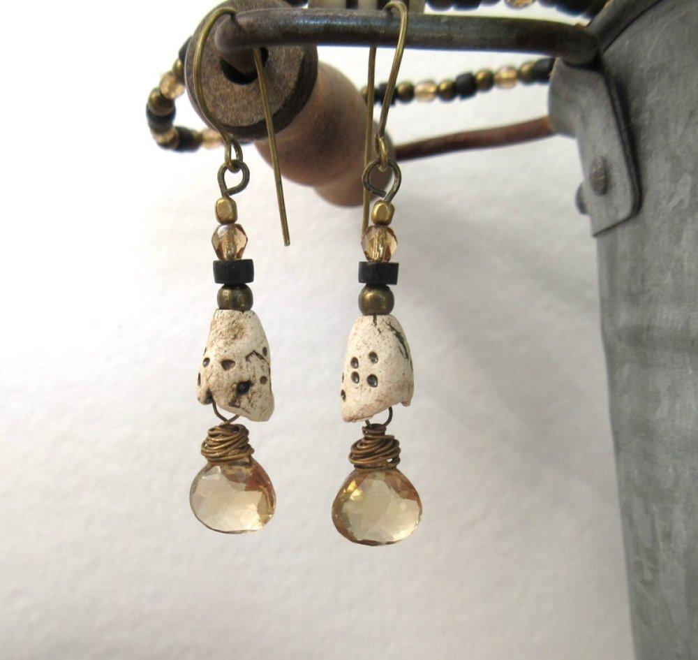Frissons De Mai : une jolie parure boucles d'oreille et bracelet !!!!!