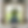 Rythmes harmonieux : peinture florale moderne huile au couteau sur châssis toile de lin avec cadre