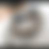 """""""sursauts de vision ...."""" : un set de 5 bracelets composés de perle de quartz clair, nacre, os, céramique ancienne..."""