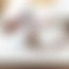 Rencontres merveilleuses !!!! :une parure bracelet et boucles d'oreille primitive, industrielle