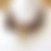 Les temps sauvages :un singulier collier ras de cou