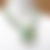 Les ficelles du temps : un collier nomade et précieux avec bouquet de perles heishi en turquoise africaine 100 % naturelle .....