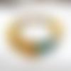Vendu - une magie troublante : un bracelet racé, ethnique et primitif , retour aux sources avec de l'ambre blanc !!!! ...