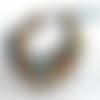 Face à la mer !!!!! : un bracelet 3 rangs style ethnique amérindien avec superbes perles en pâtes de verre africaines