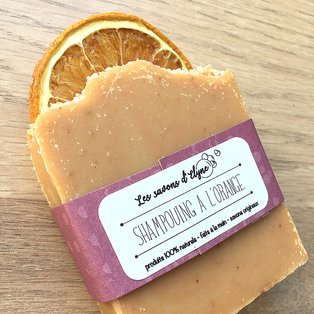 SHAMPOING A L'ORANGE (130g)