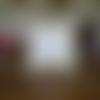 Housse de coussin carrée en patchwork de linge ancien  dentelles , lin , couleur naturel , élégant , raffiné , vintage ;