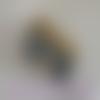 Portefeuille arbre de vie gris et or