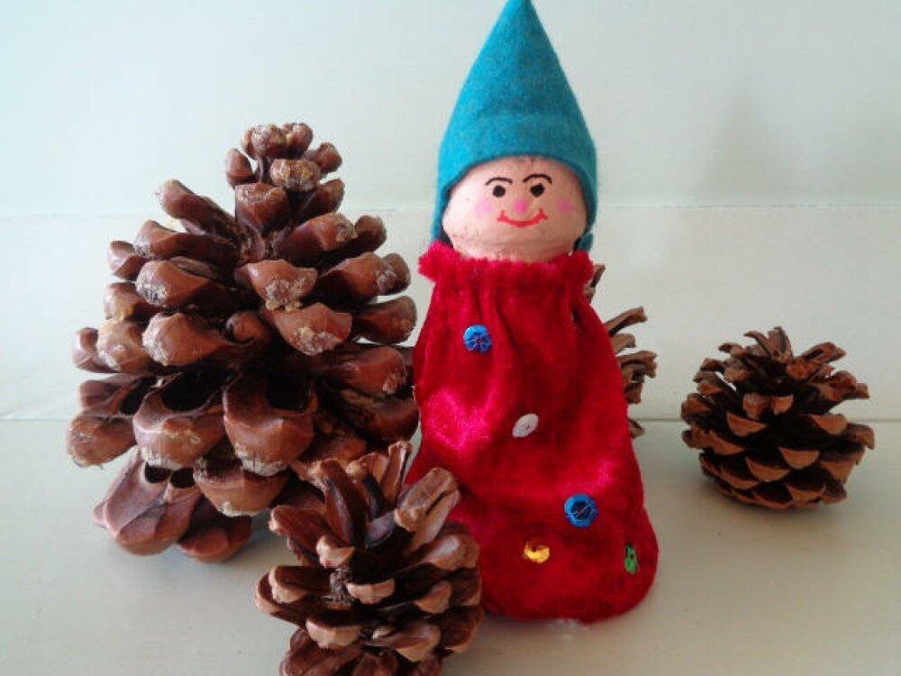 Décoration de Noël à poser ou suspendre au sapin