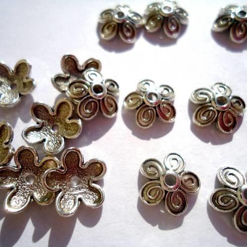 100 Perles en metal Bronze 2mm Brillant Creation bijoux