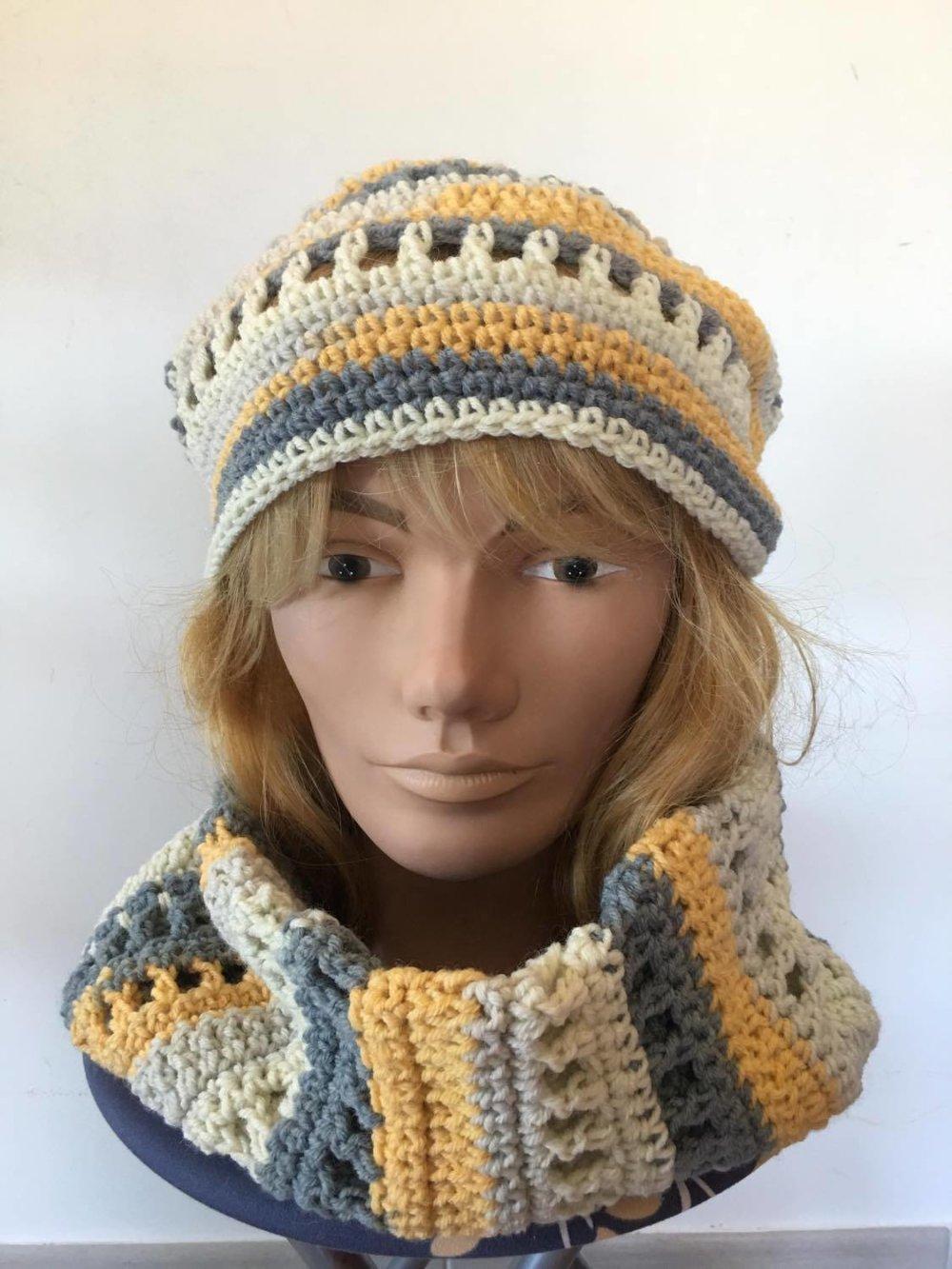 ensemble snood  bonnet - femme [869]