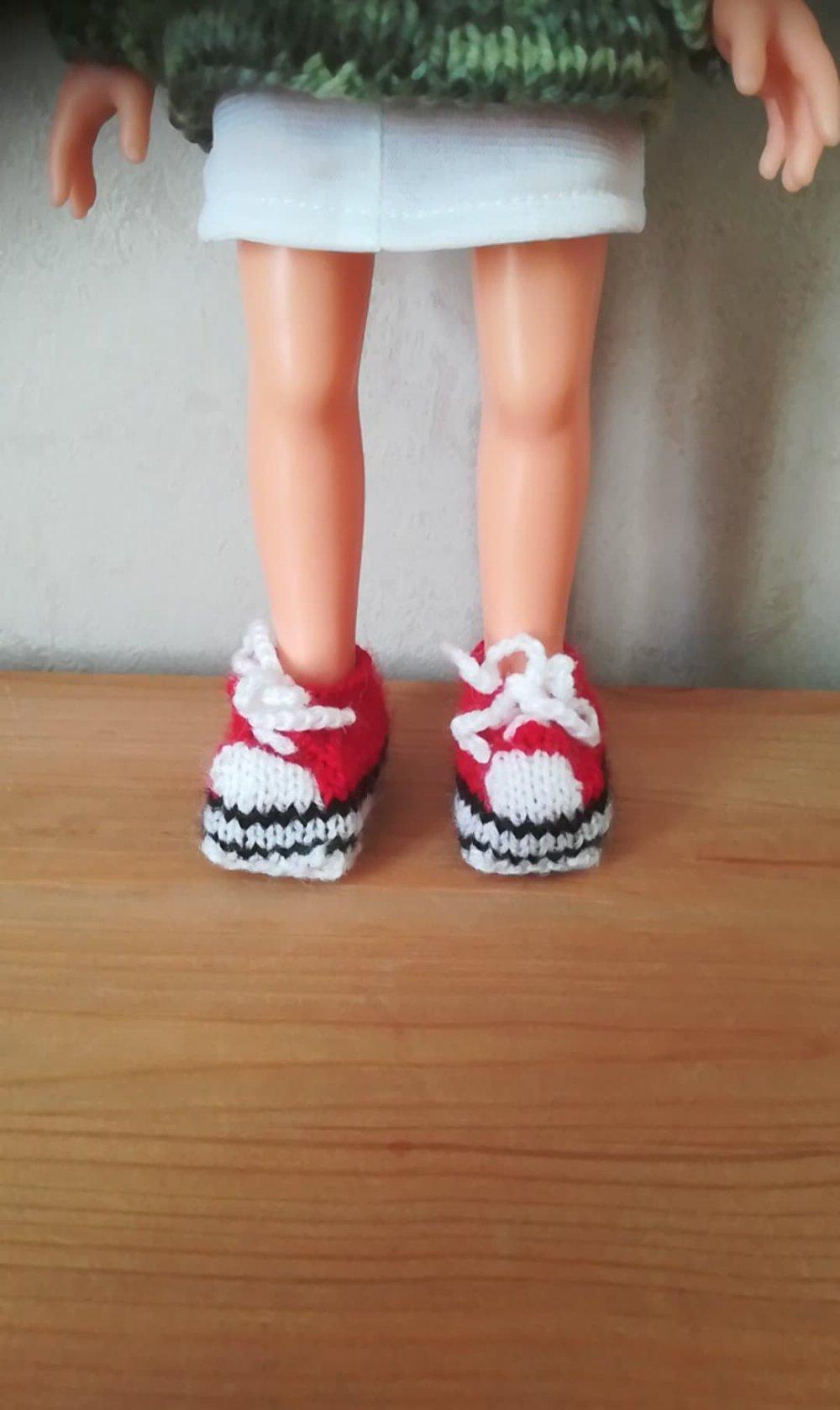 Chaussures baskets pour poupée Corolle Chérie