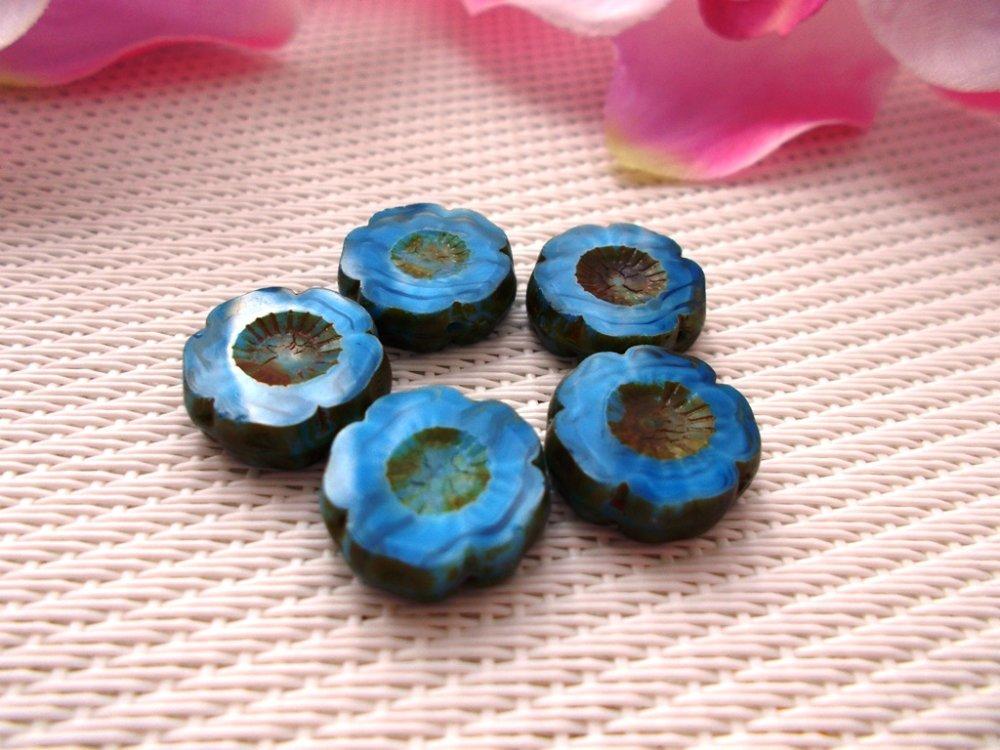 perles bohèmes picasso fleurs