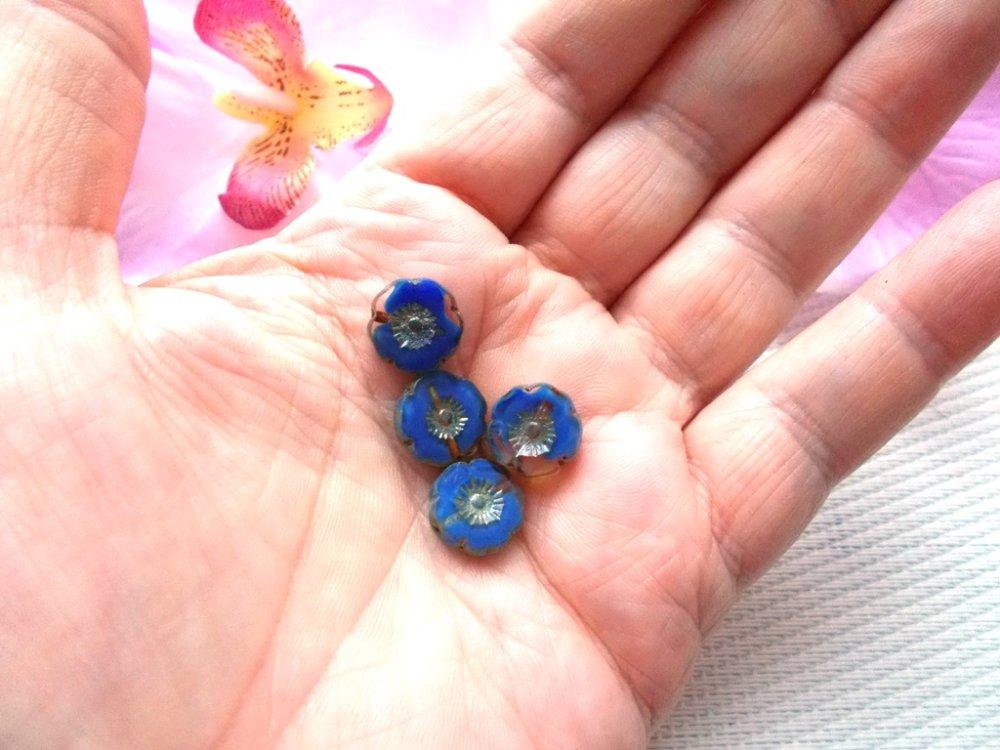 perles verre tchèque de bohème picasso