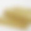 Ruban biais doré jersey lurex pailleté largeur plié 20mm, 20/10/10cm, très doux et très souple