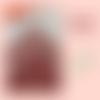 """Serviettes de table en tissu - motif """" mosaïque """""""