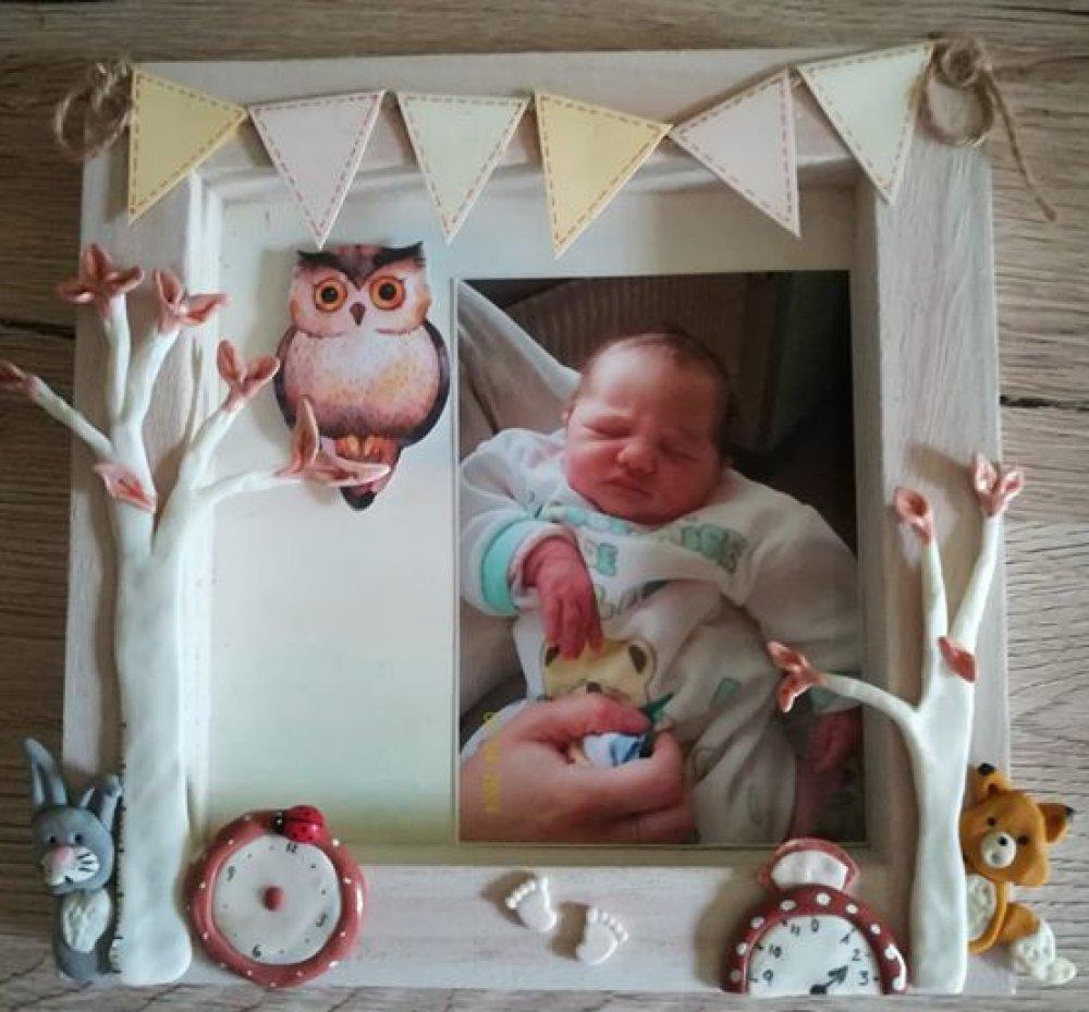 Cadre vitrine naissance