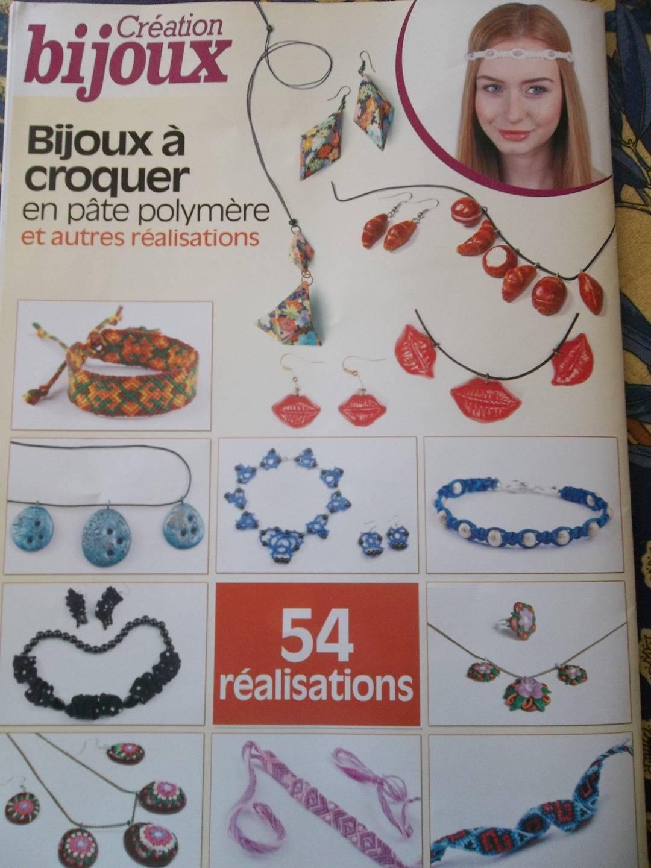 Livre pour la création de bijoux (pâte polymère et autres)