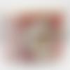 Album photo de noël aux couleurs traditionnelles entièrement fait main