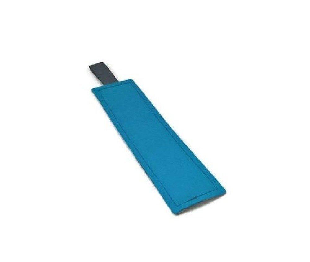 Marque pages bleu à soucoupe volante. Marque pages enfant