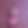 Pendentif goutte  - quartz cerise