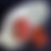 Pierre roulé - jaspe rouge