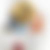 Chouchou coton, scrunchy, accessoire, chouchou cheveux, élastique cheveux, wax headband, accessoire coiffure, attache,  bijou
