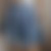 Jupe patineuse, plissée bleu ciel, ample, évasée, corolle, midi, jupe femme, jump flared, skater skirt,bell,ample skirt, skirt woman