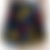 Jupe patineuse wax-jupe wax-corolle-ankara-evasée-wax skirt-wax circle skirt-skirt sun wax-handmade- african