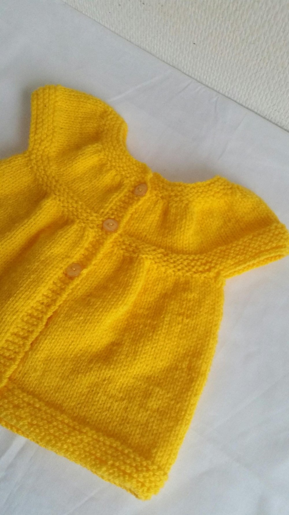 Robe boléro bébé-Gilet -Cardigan-Chauffe épaules-cadeau