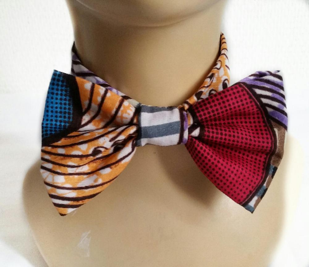 Noeud papillon homme-enfant-noeud pap-men fashion-accessoires mariage-costume- wax-accessoire céremonie