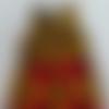Robe fillette wax-ankara-robe wax cérémonie imprimé fillette-girl dress wax-dress ceremony girl-sleeveless wax