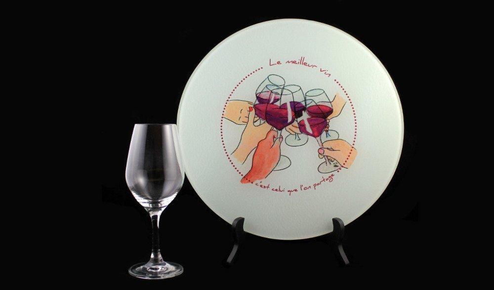 """Plateau """"Le Meilleur Vin"""""""