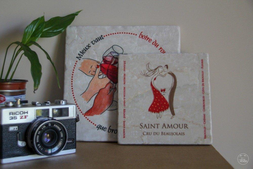 """Dessous de plat """"Saint-Amour"""" medium"""