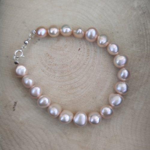 Bracelet en perles de culture d'eau douce