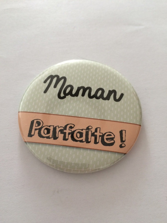 """Miroir de poche Maman- """"maman parfaite"""""""