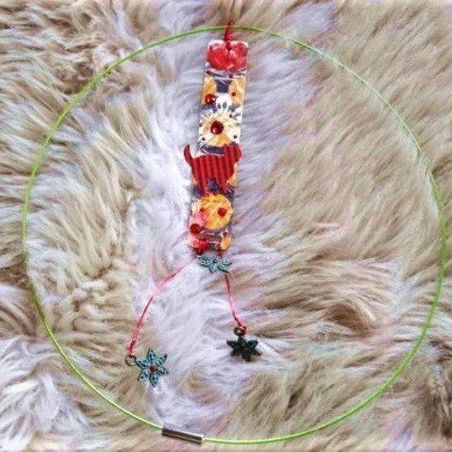 collier ras de cou habille