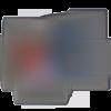 Patch hirondelle, écusson brodé thermocollant fleurs 11,2 cm