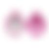 Anneau de dentition pitaya en silicone alimentaire sans bpa 74x97mm