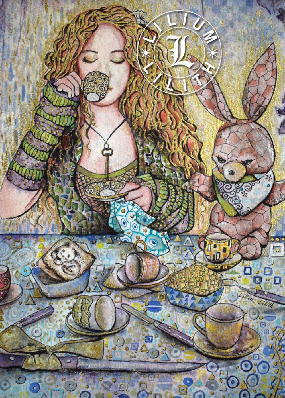 Carte Postale, Alice au pays des merveilles