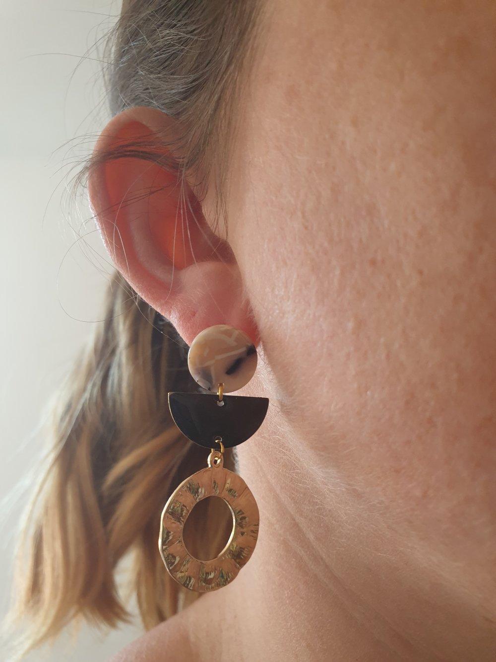 """Boucles d'oreilles """"ELSA"""""""