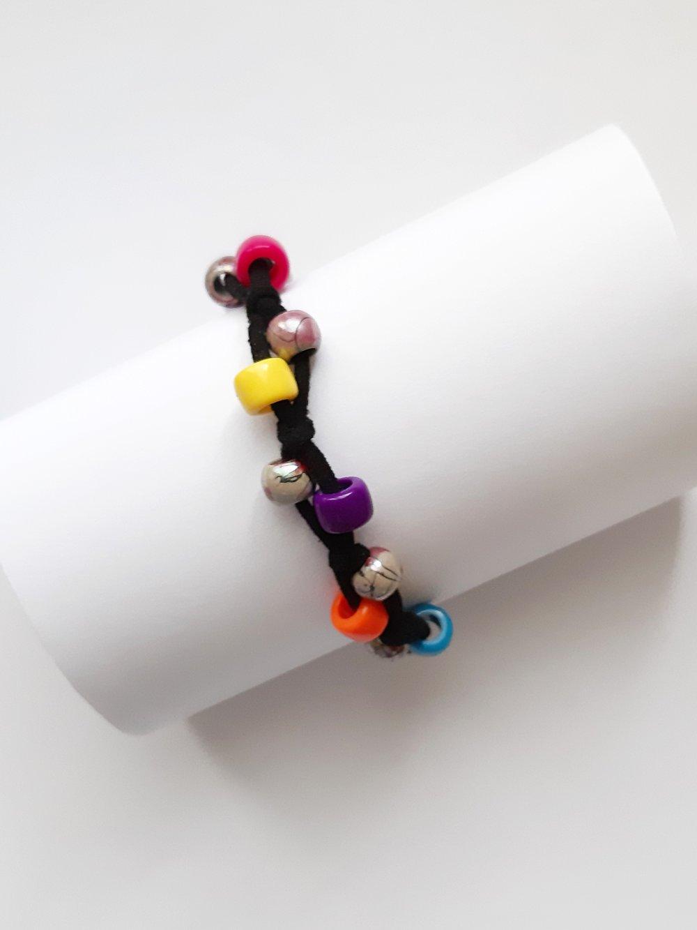 bracelet cordon suédine