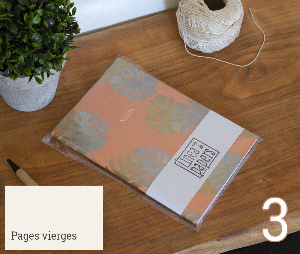 Carnet A5 Naturalisme - Orange